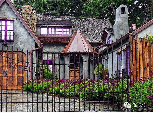 童话般的乡村小舍